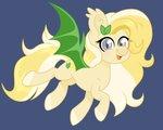 Size: 3063x2445 | Tagged: safe, artist:ninnydraws, oc, oc:radler, bat pony, pony, flat color, simple background
