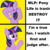 Size: 1024x1024 | Tagged: alicorn, artist:luckreza8, drake, female, g4.5, hotline bling, mare, meme, my little pony: pony life, no true scotsman, op is a duck, op is wrong, op wants attention, pony, safe, solo, twilight sparkle, twilight sparkle (alicorn)