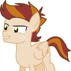 Size: 2846x2869 | Tagged: artist:shadymeadow, male, oc, oc:prank cakes, pegasus, pony, safe, simple background, solo, teenager, transparent background
