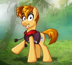 Size: 1450x1300 | Tagged: safe, artist:hellaoggi, earth pony, pony, ponified, rayman, solo