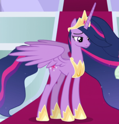 Size: 600x625 | Tagged: safe, screencap, twilight sparkle, alicorn, pony, the last problem, spoiler:s09e26, cropped, older, older twilight, princess twilight 2.0, solo, twilight sparkle (alicorn)