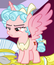 Size: 830x1000 | Tagged: alicorn, alicornified, cozycorn, cozy glow, race swap, royal guard, safe, screencap, solo, spoiler:s09e24, spoiler:s09e25, the ending of the end