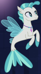 Size: 475x855 | Tagged: safe, screencap, terramar, seapony (g4), surf and/or turf, cropped, male, solo