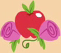Size: 87x75 | Tagged: safe, screencap, apple rose, apple family reunion, cropped, cutie mark, cutie mark only, no pony, solo