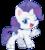 Size: 487x543 | Tagged: safe, artist:mofumofutchi, rarity, pony, unicorn, my little pony: pony life, pony life, chibi, cute, cutie mark, female, looking at you, mare, one eye closed, raribetes, simple background, transparent background, unshorn fetlocks, wink