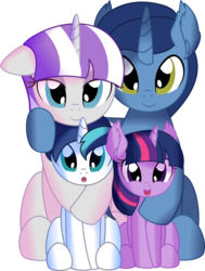Size: 6179x8181 | Tagged: safe, artist:cyanlightning, night light, shining armor, twilight sparkle, twilight velvet, pony, unicorn, .svg available, absurd resolution, brother and sister, colt, colt shining armor, cute, daaaaaaaaaaaw, ear fluff, family, father and child, father and daughter, father and son, female, filly, filly twilight sparkle, husband and wife, lidded eyes, lightabetes, like father like daughter, like father like son, like mother like daughter, like mother like son, like parent like child, looking at you, male, mare, mother and child, mother and daughter, mother and son, parent and child, shining adorable, siblings, simple background, smiling, stallion, transparent background, twiabetes, twilight's family, unicorn twilight, vector, velvetbetes, young, younger