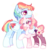 Size: 1194x1254 | Tagged: safe, artist:manella-art, rainbow dash, oc, oc:sunny moonlight, alicorn, pegasus, pony, alicorn oc, alternate design, base used, colored hooves, colored wings, colored wingtips, father and daughter, female, hug, male, offspring, one eye closed, parent:rainbow dash, parent:twilight sparkle, parents:twidash, rule 63, simple background, transparent background