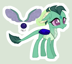 Size: 692x614 | Tagged: safe, artist:starling-sentry-yt, oc, hybrid, base used, dragonling, interspecies offspring, male, offspring, parent:princess ember, parent:thorax, parents:embrax, reference sheet, simple background, solo
