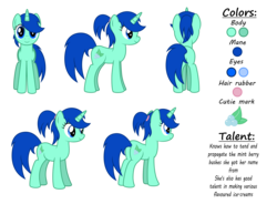 Size: 9500x7000 | Tagged: absurd resolution, artist:northernthestar, female, mare, oc, oc:mint berry, pony, reference sheet, safe, simple background, solo, transparent background, unicorn