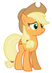 Size: 5228x7287 | Tagged: absurd resolution, applejack, artist:estories, pony, safe, simple background, solo, transparent background, vector