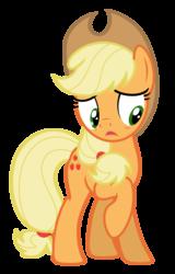 Size: 4668x7287 | Tagged: safe, artist:estories, applejack, pony, absurd resolution, simple background, solo, transparent background, vector