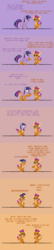 Size: 600x2800 | Tagged: safe, artist:tarkan809, smolder, twilight sparkle, alicorn, dragon, pony, character to character, desktop ponies, dragoness, duality, female, pixel art, pony to dragon, self dragondox, sprite, transformation, transformation sequence, twilight sparkle (alicorn), twinning