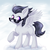 Size: 2000x2000 | Tagged: artist:avrameow, chest fluff, colt, high res, looking at you, male, pegasus, pony, rumble, safe, solo, spread wings, sunglasses, wings