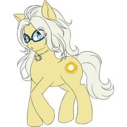 Size: 1000x1000 | Tagged: safe, artist:cdv, artist:sweeteater, derpibooru exclusive, oc, oc only, oc:azha magna, earth pony, pony, 2020 community collab, derpibooru community collaboration, female, glasses, looking at you, solo, transparent background