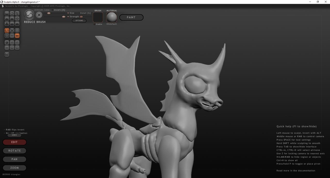 3D Anal Dildo 2199842 - 3d, anal, arthropod, changeling, dildo, explicit