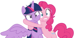 Size: 13680x6960 | Tagged: alicorn, artist:decprincess, earth pony, pinkie pie, pony, safe, simple background, .svg available, the mean 6, transparent background, twilight sparkle, twilight sparkle (alicorn), vector, vector trace