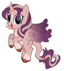 Size: 972x1080 | Tagged: 2020 community collab, alicorn, alicorn oc, artist:thunder-blur, cloven hooves, colored wings, colored wingtips, curved horn, cutie mark, derpibooru community collaboration, female, hair over one eye, happy, horn, leonine tail, magical lesbian spawn, magical threesome spawn, mare, multicolored wings, multiple parents, oc, oc only, oc:shimmering spectacle, offspring, pale belly, parent:starlight glimmer, parents:twishimmerglimmer, parent:sunset shimmer, parent:twilight sparkle, pony, safe, show accurate, simple background, socks (coat marking), solo, spread wings, star (coat marking), transparent background, two toned wings, unshorn fetlocks, vector, wings