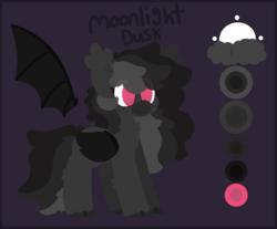 Size: 2492x2060 | Tagged: safe, artist:moonydusk, oc, oc only, oc:moonlightdusk, pony, female, mare, reference sheet