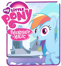 Size: 211x228 | Tagged: safe, rainbow dash, pegasus, pony, official, crystal empire, crystal palace, female, hasbro, looking at you, smiling, solo, website