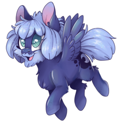 Size: 1098x1139 | Tagged: safe, artist:cutepencilcase, princess luna, pony, alternate design, beard, facial hair, hobo, hobo pony, simple background, transparent background