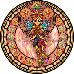 Size: 1024x1024 | Tagged: safe, artist:akili-amethyst, applejack, fluttershy, pinkie pie, rainbow dash, rarity, sci-twi, sunset shimmer, twilight sparkle, equestria girls, legend of everfree, crystal guardian, crystal wings, dive to the heart, geode of empathy, geode of fauna, geode of shielding, geode of sugar bombs, geode of super speed, geode of super strength, geode of telekinesis, humane five, humane seven, humane six, kingdom hearts, magical geodes, ponied up, watermark, wings