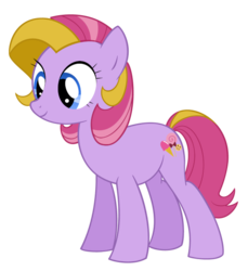 Size: 567x618 | Tagged: safe, artist:queencold, triple treat, pony, commission, g3, g3 to g4, generation leap, simple background, solo, transparent background