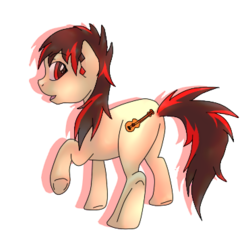 Size: 371x371   Tagged: safe, artist:princess-skye, oc, oc:raven fear, pony, incorrect cutie mark, simple background, solo, transparent background, wrong cutie mark