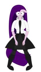 Size: 4000x7000 | Tagged: anthro, artist:visionwing, clothes, creepy smile, front view, oc, oc only, oc:visionmena, safe, standing, stare