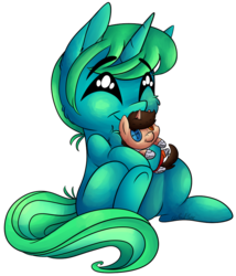 Size: 827x966 | Tagged: safe, artist:cutepencilcase, oc, oc:kimi, pony, unicorn, chell, female, plushie, portal (valve), simple background, transparent background, ych result