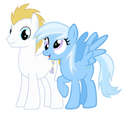 Size: 1233x1112 | Tagged: bluetrix, derpy hooves, doctorderpy, doctor whooves, edit, female, fusion, male, palette swap, prince blueblood, recolor, safe, shipping, straight, time turner, trixie