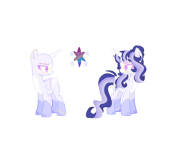 Size: 2613x2396 | Tagged: safe, artist:sunrisesparksyt, oc, oc:rainbow galaxy, alicorn, pony, alicorn oc, cutie mark, female, magical lesbian spawn, offspring, parent:rainbow dash, parent:twilight sparkle, parents:twidash, simple background, transparent background