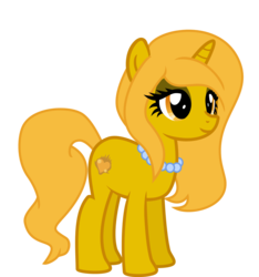 Size: 1500x1600 | Tagged: safe, oc, oc:golden lust, pony, unicorn, 2020 community collab, derpibooru community collaboration, female, solo, transparent background