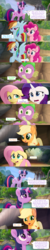 Size: 1333x6700 | Tagged: alicorn, angry, applejack, canterlot, cloud, comic, confused, dragon, earth pony, edit, edited screencap, female, fluttershy, forest, invasion, logic, male, mane seven, mane six, mare, meta, my little pony: the movie, open mouth, pegasus, pinkie pie, plot hole, pony, rainbow dash, raised hoof, rarity, river, rock, safe, screencap, screencap comic, speech bubble, spike, storm king's ship, tree, twilight sparkle, twilight sparkle (alicorn), unicorn, waterfall