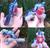 Size: 2182x2102 | Tagged: safe, artist:noxi1_48, oc, oc:cinnabyte, earth pony, human, pony, earth pony oc, glasses, happy, irl, irl human, photo, plushie