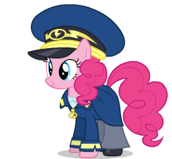 Size: 250x231   Tagged: artist needed, safe, artist:sasha-flyer, pinkie pie, pony, testing testing 1-2-3, ancient wonderbolts uniform, animated, animated png, apng for breezies, clothes, female, simple background, solo, talking, transparent background, uniform, vector