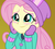 Size: 1208x1080 | Tagged: safe, screencap, fluttershy, blizzard or bust, equestria girls, equestria girls series, holidays unwrapped, spoiler:eqg series (season 2), blushing, clothes, cropped, cute, female, fluttershy's winter hat, hat, mittens, shyabetes, solo, winter outfit