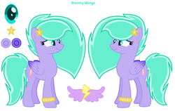 Size: 1784x1130 | Tagged: safe, artist:moonlightnightsky, oc, oc only, oc:stormywings, pegasus, pony, female, mare, solo