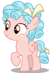 Size: 842x1191 | Tagged: safe, artist:hendro107, cozy glow, pegasus, pony, marks for effort, .svg available, female, filly, freckles, raised hoof, simple background, smiling, solo, svg, transparent background, vector