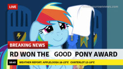 Size: 1280x720 | Tagged: best pony, break your own news, crying, edit, edited screencap, happy, parental glideance, rainbow dash, safe, screencap, tears of joy