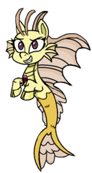 Size: 484x904 | Tagged: adagio dazzle, artist:thatonecrazyartist18, cloven hooves, cute, female, fins, fish tail, gem, my little pony: pony life, safe, scales, simple background, siren, siren gem, smiling, solo, transparent background