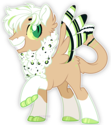Size: 2120x2402 | Tagged: safe, artist:rerorir, oc, hybrid, pegasus, pony, base used, male, simple background, slit pupils, solo, stallion, transparent background