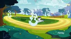 Size: 1177x651 | Tagged: cloud, colt, discovery family logo, flying, male, marks and recreation, pegasus, pony, rumble, safe, screencap, solo