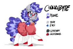 Size: 6000x4000   Tagged: safe, artist:flutterthrash, oc, oc:cinnabyte, pony, clothes, cute, dork, dress, gala dress, reference sheet