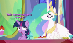 Size: 973x571 | Tagged: nervous, princess celestia, safe, text, twilight sparkle