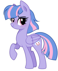 Size: 1768x2170 | Tagged: safe, artist:lazuli, wind sprint, pegasus, pony, common ground, spoiler:s09e06, blushing, cute, female, looking at you, mare, older, older wind sprint, simple background, solo, sprintabetes, transparent background