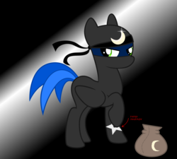 Size: 5000x4500 | Tagged: artist:northernthestar, clothes, costume, male, nightmare night costume, ninja, oc, oc:northern star, pony, safe, shuriken, solo, stallion