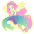Size: 1200x1200   Tagged: safe, artist:sapphiregamgee, fluttershy, equestria girls, equestria girls series, forgotten friendship, ponied up, simple background, sleeveless, solo, super ponied up, transparent background