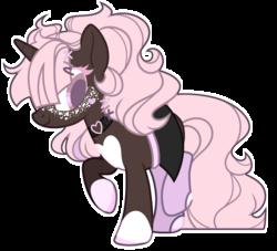 Size: 2765x2515 | Tagged: safe, artist:chococolte, oc, pony, unicorn, base used, clothes, cute, female, mare, miniskirt, simple background, skirt, socks, solo, transparent background