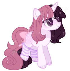 Size: 1280x1296 | Tagged: safe, artist:moon-rose-rosie, artist:ponies-bases, oc, oc only, oc:valentina, pony, unicorn, base used, bow, clothes, female, filly, freckles, simple background, socks, striped socks, tail bow, teenager, transparent background, white outline