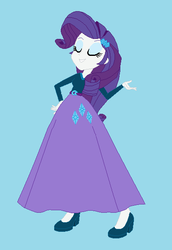 Size: 416x604   Tagged: safe, artist:starman1999, rarity, human, equestria girls, base used, clothes, humanized, long skirt, skirt, solo